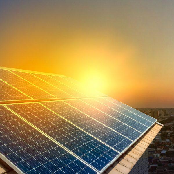 solar panels houses